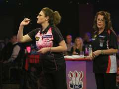 Lakeside BDO Darts 6 Jan 2016 afternoon - Alan Meeks 17