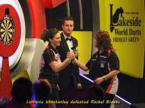 Lakeside BDO Darts 6 Jan 2016 afternoon - Alan Meeks 19