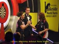 Lakeside BDO Darts 6 Jan 2016 afternoon - Alan Meeks 19