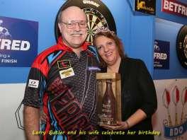 Lakeside BDO Darts 6 Jan 2016 afternoon - Alan Meeks 2