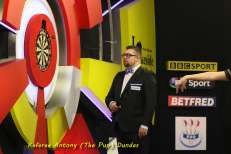 Lakeside BDO Darts 6 Jan 2016 afternoon - Alan Meeks 24