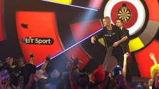 Lakeside BDO Darts 6 Jan 2016 afternoon - Alan Meeks 27
