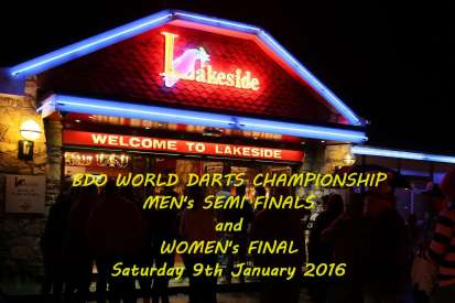 Lakeside BDO Darts 9 Jan 2016 - Alan Meeks 1
