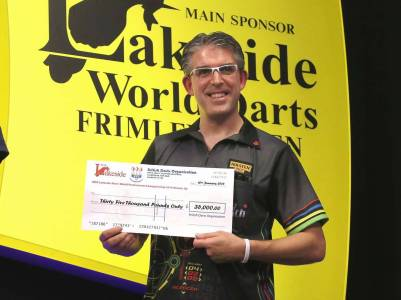 Lakeside BDO Darts The Men's Final 2016 - Alan Meeks 27