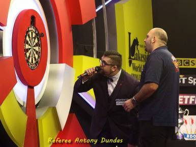 Lakeside BDO Darts The Men's Final 2016 - Alan Meeks 50