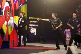 Lakeside BDO Darts The Men's Final 2016 - Alan Meeks 9